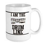 Quad Drummer Large Mug
