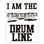 Quad Drummer Small Poster