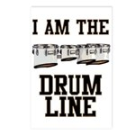 Quad Drummer Postcards (Package of 8)