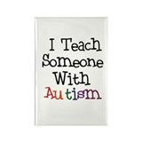 Autism Awareness Teach Rectangle Magnet (10 pack)