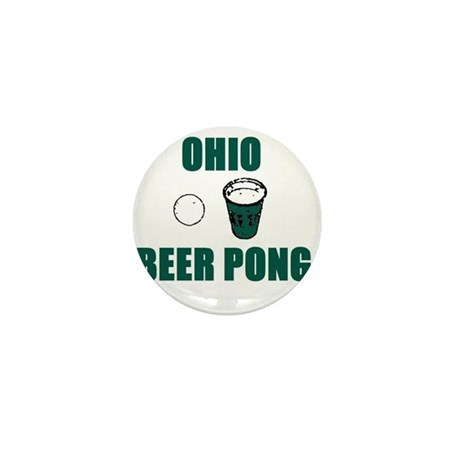 Ohio Beer Pong Mini Button (10 pack)