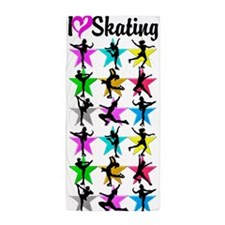 DARLING SKATER Beach Towel
