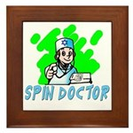 SPIN DOCTOR Framed Tile
