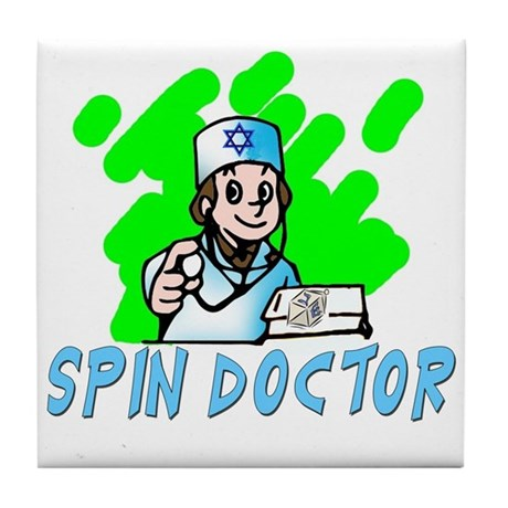 SPIN DOCTOR Tile Coaster