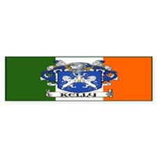 Kelly Arms Irish Flag Bumper Bumper Sticker