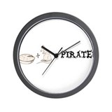 Pirate Equation Wall Clock
