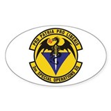 3rd Special Operations Squadron Oval  Aufkleber