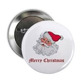 "Merry Christmas Santa 2.25"" Button (10 pack)"