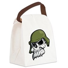 Metal Mulisha Helmet  Canvas Lunch Bag