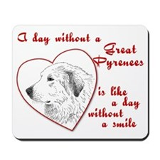 Great Pyrenees Confession Mousepad