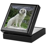 Great Pyrenees Keepsake Box &quot;Mountain View&quot;