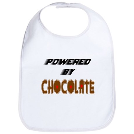 Powered by Chocolate Bib