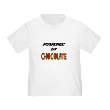 Powered by Chocolate Toddler T-Shirt