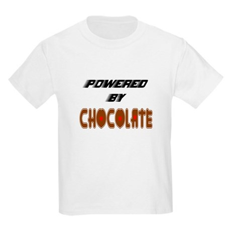 Powered by Chocolate Kids T-Shirt
