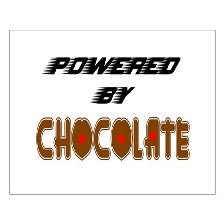 Powered by Chocolate Small Poster