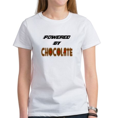 Powered by Chocolate Women's T-Shirt