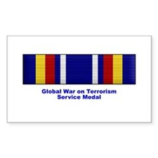 Global War on Terrorism Service Medal Decal