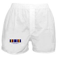 Global War on Terrorism Service Medal Boxer Shorts