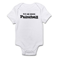 All about Paintball Infant Bodysuit