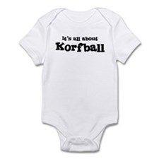 All about Korfball Infant Bodysuit