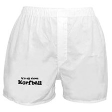 All about Korfball Boxer Shorts