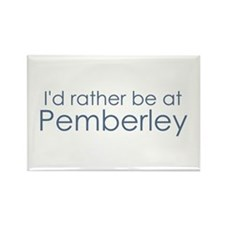 Pemberley Rectangle Magnet