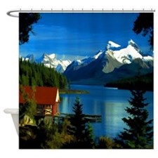 Alpine Lake Shower Curtain