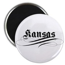 "Kansas 2.25"" Magnet (10 pack)"
