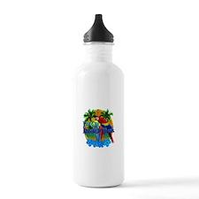 Island Time Surfing Water Bottle