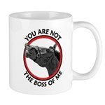 Horse Not the Boss Of Me Mug