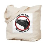 Horse Not the Boss Of Me Tote Bag