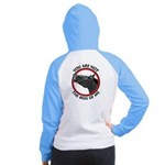 Horse Not the Boss Of Me Women's Raglan Hoodie