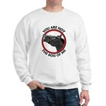 Horse Not the Boss Of Me Sweatshirt