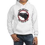 Horse Not the Boss Of Me Hooded Sweatshirt
