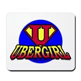 Uber Girl Mousepad