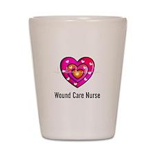 Wound Care Nurse Shot Glass