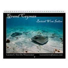 Grand Cayman - monthly calendar