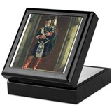 Scottish Bagpiper Keepsake Box