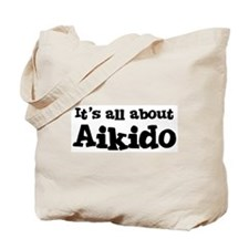 All about Aikido Tote Bag