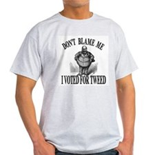 Boss Tweed Ash Grey T-Shirt