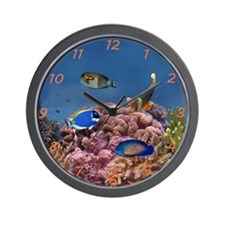 Reef Wall Clock