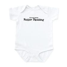 All about Roller Skating Infant Bodysuit