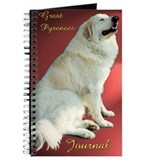 "Great Pyrenees Journal, ""Pose in Red"""