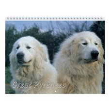 Great Pyrenees Wall Calendar Vi, 2015