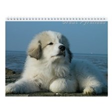 Great Pyrenees II #3 Wall Calendar 2014