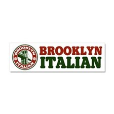Brooklyn New York Italian Car Magnet 10 x 3