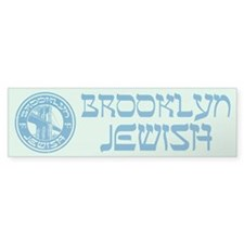 Brooklyn New York Jewish Bumper Bumper Sticker