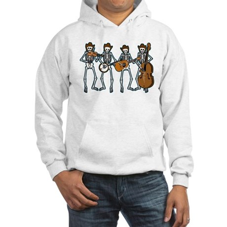 Cowboy Music Skeletons Hooded Sweatshirt