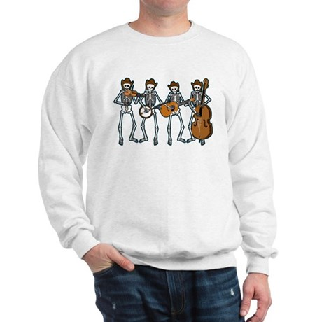 Cowboy Music Skeletons Sweatshirt