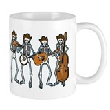 Cowboy Music Skeletons Small Mugs